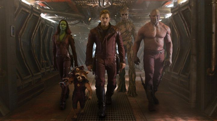 The shoes of Star Lord (Chris Pratt) in Guardians of the galaxy - Movie Outfits and Products