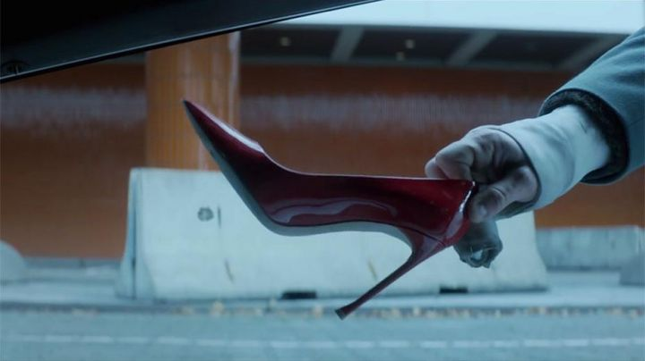 Fashion Trends 2021: The shoes red varnish of Lorraine Broughton (Charlize Theron) in Atomic Blonde