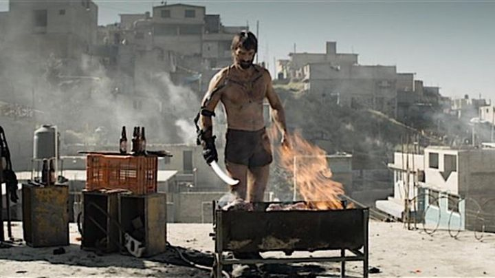 Fashion Trends 2021: The short brown Kruger (Sharlto Copley) in Elysium