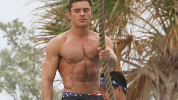 The shorts RVCA, Matt Brody (Zac Efron) in Baywatch : baywatch - Movie Outfits and Products