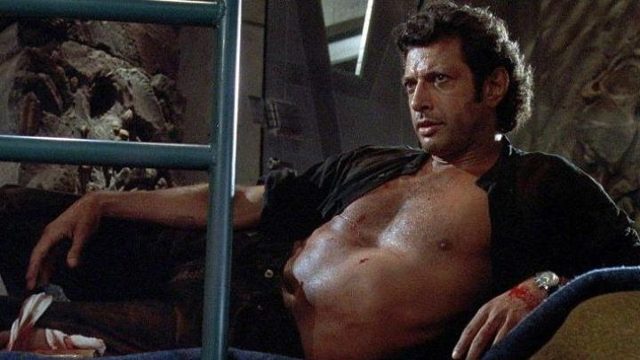 The shows of Seth Brundle (Jeff Goldblum) in The fly movie