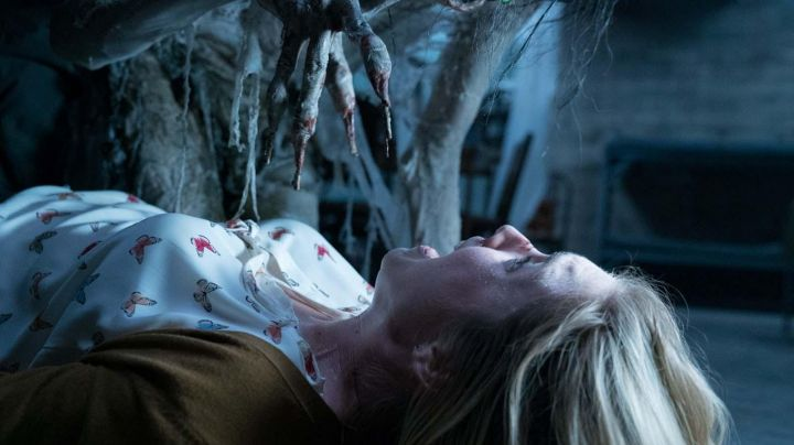 The silk shirt butterflies in Insidious The last key - Movie Outfits and Products