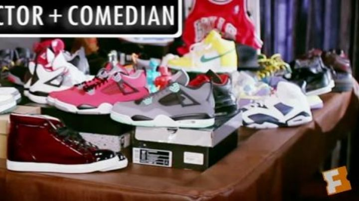 The sneakers Air Jordan 6 Olympic in Sneakerheadz - Movie Outfits and Products