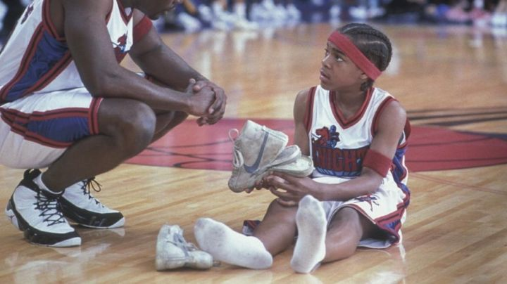 The sneakers 'Magic' Bow wow in Like Mike / Magic Sneakers - Movie Outfits and Products