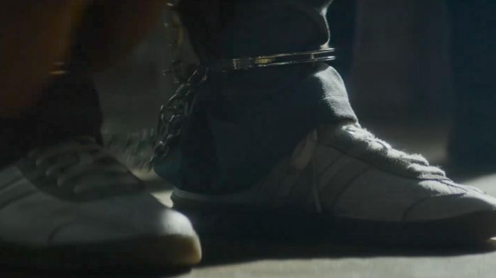 The sneakers of Darius Kincaid (Samuel L. Jackson) in Hitman & Bodyguard - Movie Outfits and Products