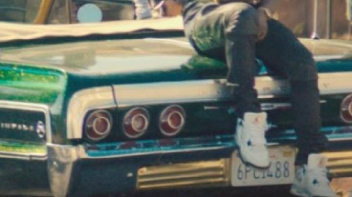 The sneakers worn by Dom (Asap Rocky) in Dope - Movie Outfits and Products