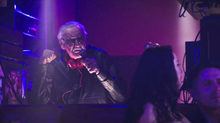 The song GDFR by Flo Rida played by Stan Lee in the club where Vanessa (Morena Baccarin) in Deadpool