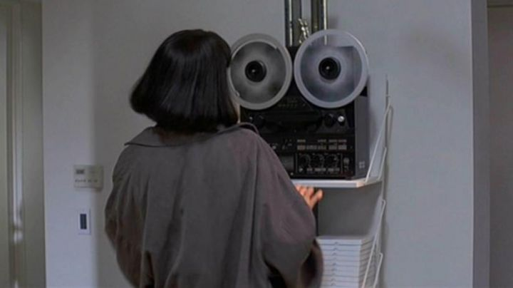 The stereo reel-to-reel from Mia Wallace (Uma Thurman) in Pulp Fiction movie