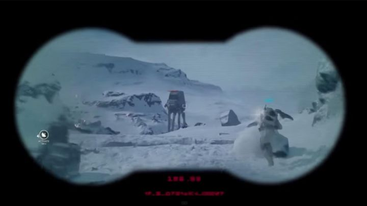 The stormy electrobinoculars seen in Star Wars V : The empire against attack - Movie Outfits and Products
