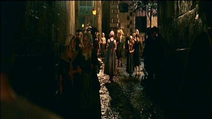 The streets of Paris, shot in the neighbourhood of The Catedral in Barcelona in The Perfume - Movie Outfits and Products
