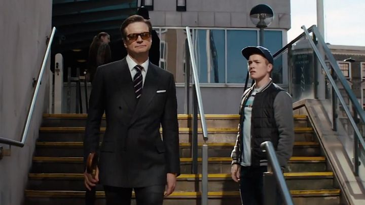 The suit Mr Porter of Harry Hart (Colin Firth) in Kingsman