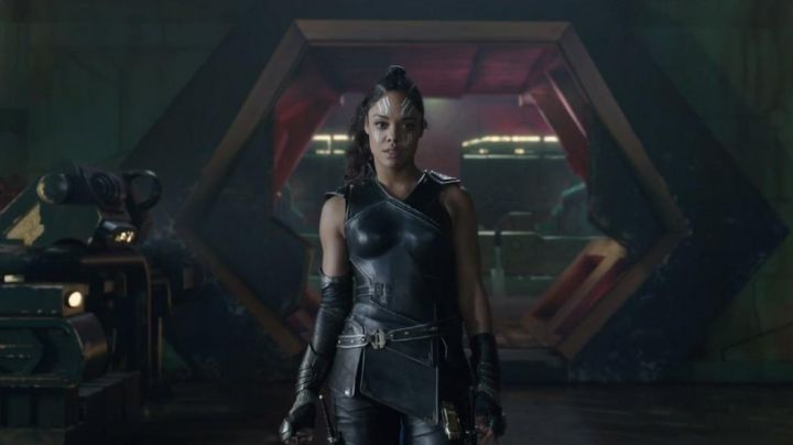 The suit of Valkyrie (Tessa Thompson) in Thor : Ragnarok - Movie Outfits and Products