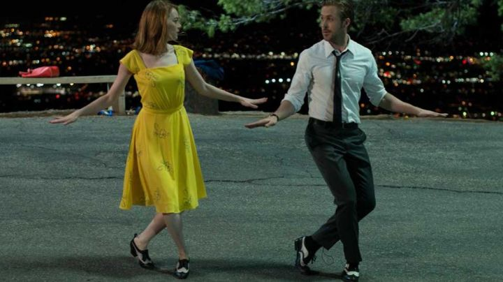 Fashion Trends 2021: The summer dress yellow Mia (Emma Stone) in the The Land