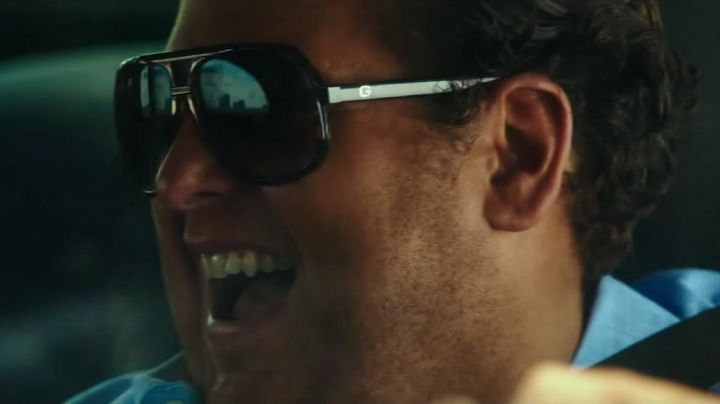 The sunglasses Gucci of Efraim Diveroli (Jonah Hill) in War Dogs - Movie Outfits and Products