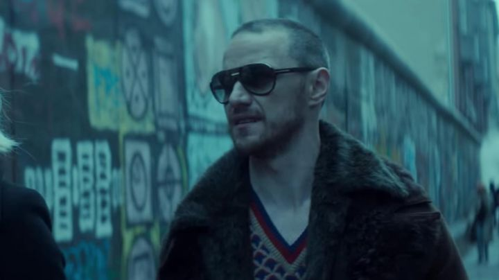 The sunglasses of David Percival (James McAvoy) in Atomic Blonde - Movie Outfits and Products