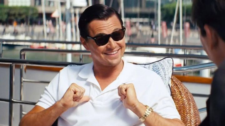 The sunglasses of Jordan Belfort (Leonardo DiCaprio) in the Wolf of Wall street - Movie Outfits and Products