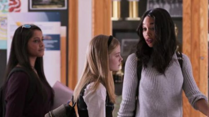 Fashion Trends 2021: The sweater white, Liz Allan (Laura Harrier) in Spider-Man : Homecoming
