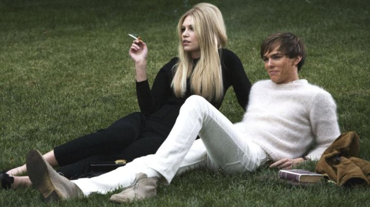 The sweater white mohair with Kenny (Nicholas Hoult) in A Single Man movie