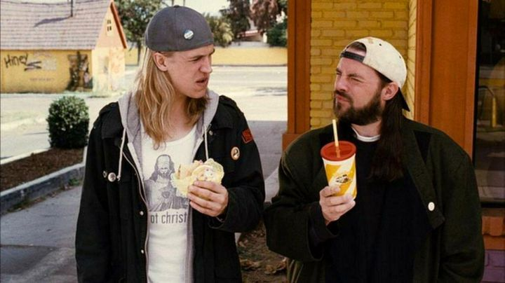 """Fashion Trends 2021: The t-shirt """"Got Christ), Jay (Jason Mewes) in Clerks II"""