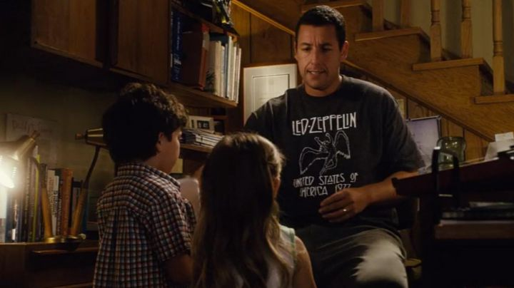 Fashion Trends 2021: The t-shirt Led Zeppelin to Michael Newman (Adam Sandler) in Click