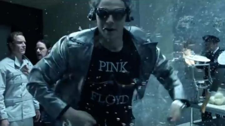 Fashion Trends 2021: The t-shirt Pink Floyd Quicksilver (Evan Peters) in X-Men: Day of the future past