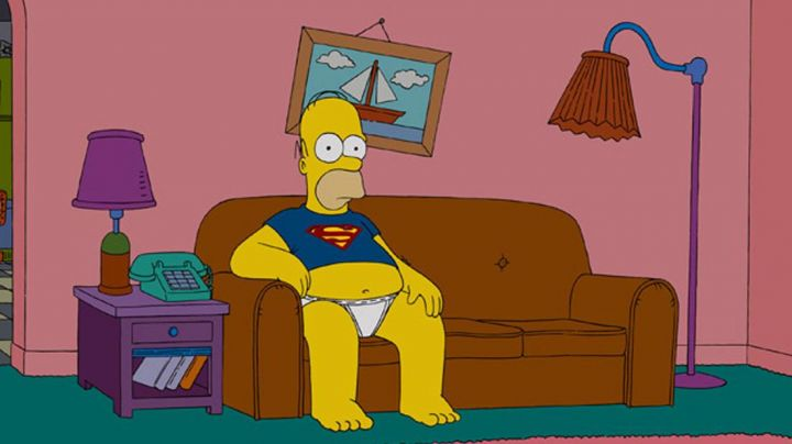 Fashion Trends 2021: The t-shirt blue Superman to Homer Simpson in The Simpson movie