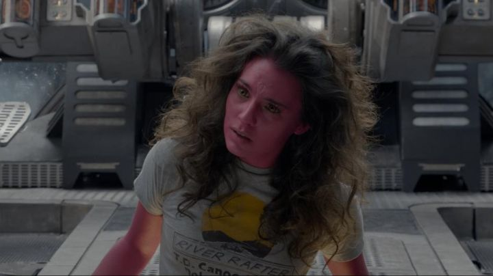 Fashion Trends 2021: The t-shirt of Bereet (Melia Kreiling) in The Guardians of the Galaxy