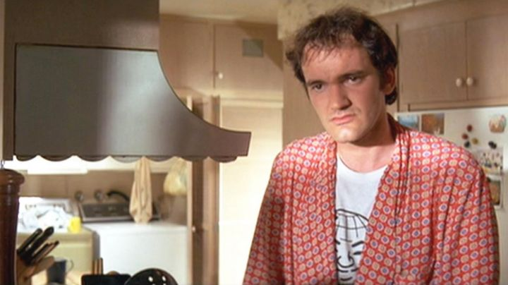 Fashion Trends 2021: The t-shirt worn by Jimmie Dimmick (Quentin Tarantino) in Pulp Fiction