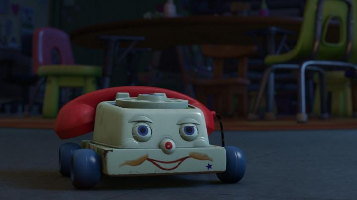 The telephone in Toy Story 3 movie