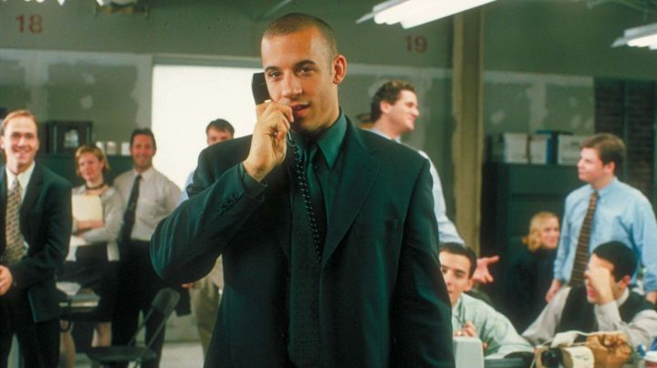 The tie of Chris Varick (Vin Diesel) in The Insider - Movie Outfits and Products