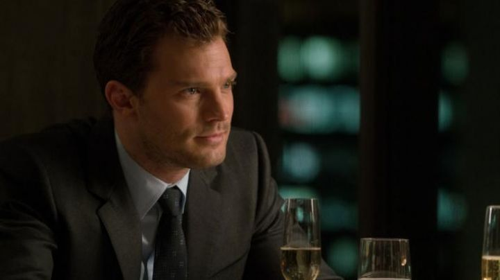 The tie of Christian Grey (Jamie Dornan) in 50 shades darker - Movie Outfits and Products