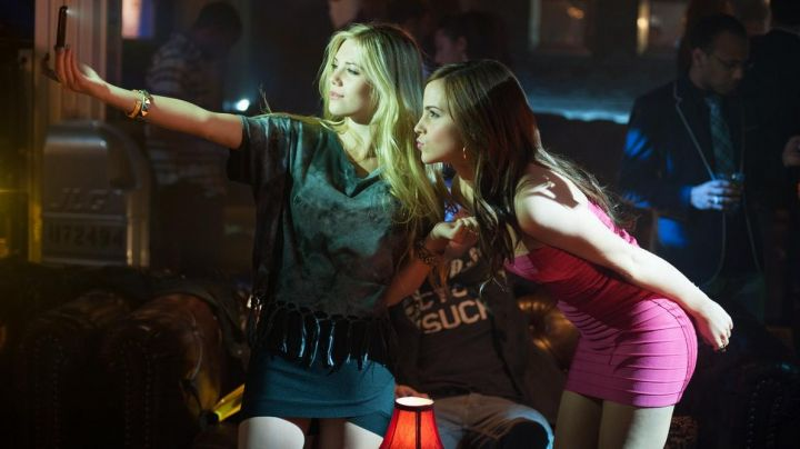 Fashion Trends 2021: The tight-fitting dress, pink, Nicki (Emma Watson) The Bling Ring