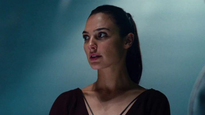 The top brown worn by Wonder Woman / Diana Prince (Gal Gadot) Justice League movie