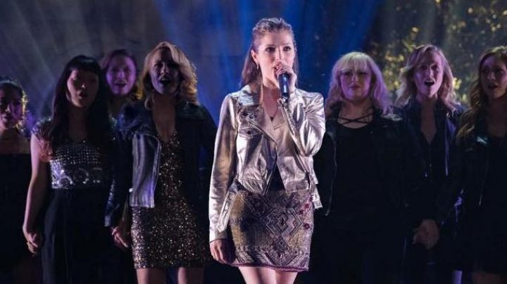 The top cross-TORRID Fat Amy / Patricia (Rebel Wilson) in Pitch Perfect 3 Movie
