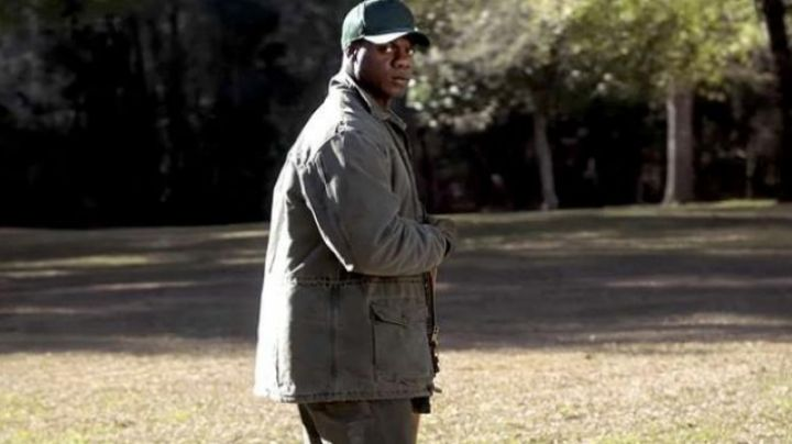 The trousers green Carhartt Walter (Marcus Henderson) in Get Out - Movie Outfits and Products