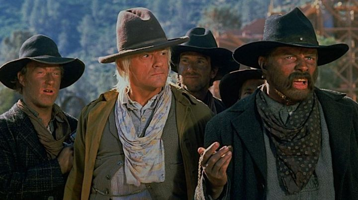 The true hat of cow-boy a Doc (Christopher Lloyd) in Back to the future 3 movie