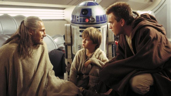 The tunic of a Jedi of Obi-Wan Kenobi (Ewan McGregor) in Star Wars I : The phantom menace - Movie Outfits and Products