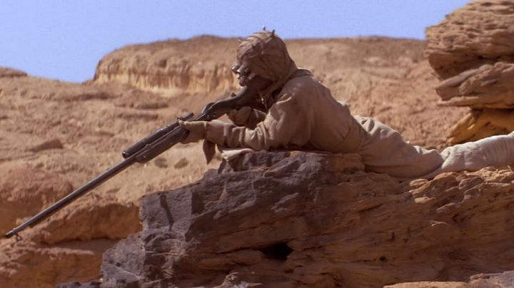 Fashion Trends 2021: The tunic of men of the sands (Tusken in Star Wars IV : A new hope