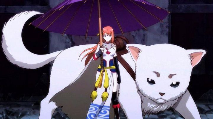 The umbrella of Kagura in Gintama - Movie Outfits and Products