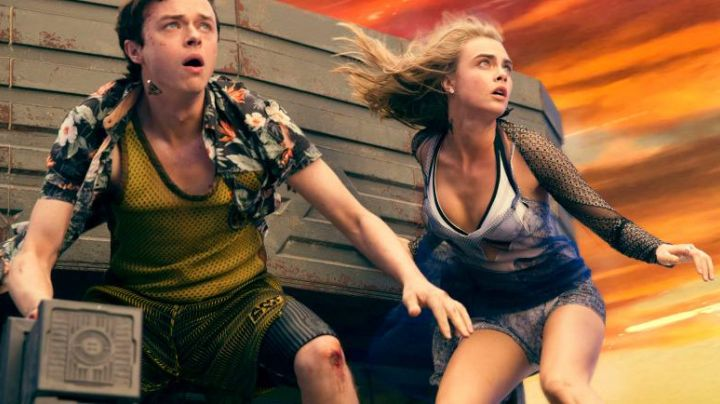 The underwear of Laureline (Cara Delevingne) in Valérian and the City of ten thousand planets - Movie Outfits and Products