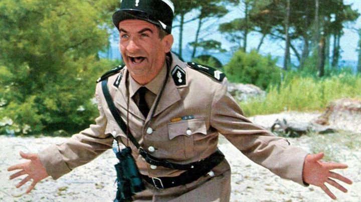The uniform of constable of Cruchot (Louis De Funes) in The Gendarme of Saint-Tropez - Movie Outfits and Products