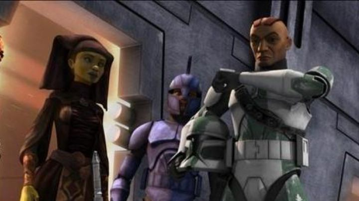 Fashion Trends 2021: The uniform of the Commander Gree in Star Wars : The Clone Wars