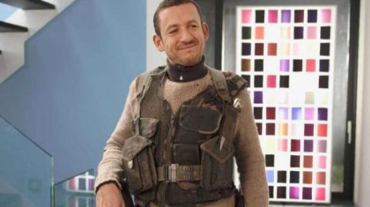 The vest tactical green Dany Boon in Supercondriaque - Movie Outfits and Products
