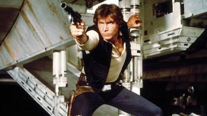 The vest without sleeves Han Solo (Harrison Ford) in Star wars - Movie Outfits and Products