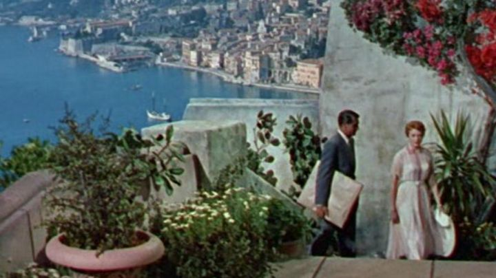 The view of Villefranche-sur-mer in the film, She and him - Movie Outfits and Products
