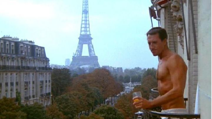 The view of the Eiffel Tower in Marathon Man - Movie Outfits and Products