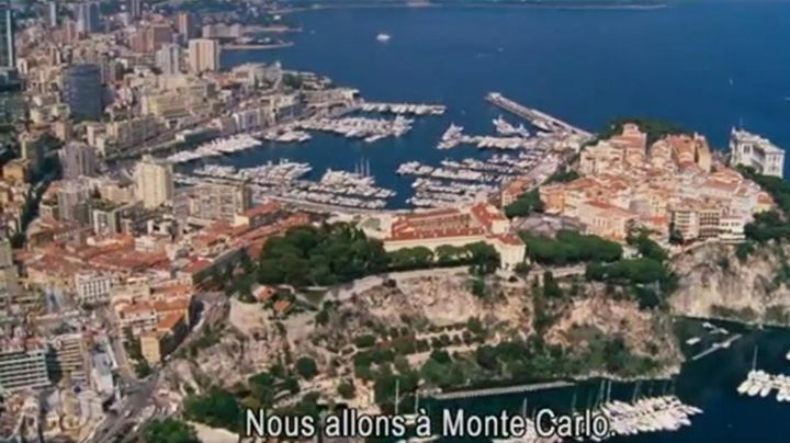The view on the port Hercule in Monaco in Welcome to Monte Carlo - Movie Outfits and Products