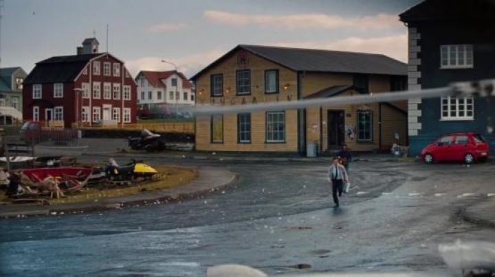The village of Stykkisholmur Iceland in The dream life of Walter Mitty - Movie Outfits and Products