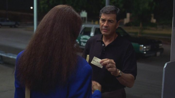 Fashion Trends 2021: The visiting card of Max Cherry (Robert Forster) in Jackie Brown