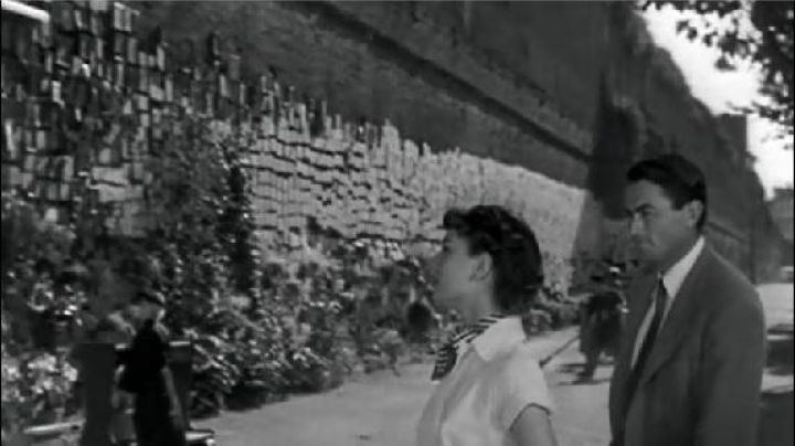 The wall of wishes Viale del Policlinico, Rome in roman Holiday - Movie Outfits and Products